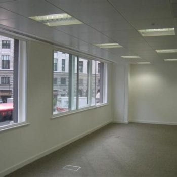 White Painted Empty Office