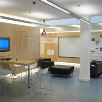 Wood Panelled Office